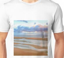 The Beach at Sunset (Digital Art)  Unisex T-Shirt