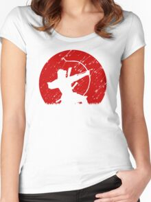 Oni Under Fire Women's Fitted Scoop T-Shirt