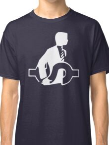 One Man & His Dollar Corporate Greed Bankers Classic T-Shirt