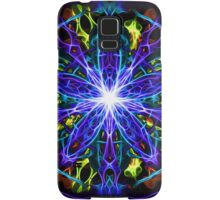 Energetic Geometry - moonlight flower bloom Samsung Galaxy Case/Skin