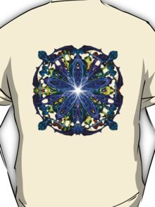 Energetic Geometry - moonlight flower bloom T-Shirt