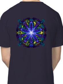 Energetic Geometry - moonlight flower bloom Classic T-Shirt