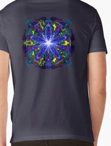 Energetic Geometry - moonlight flower bloom Mens V-Neck T-Shirt