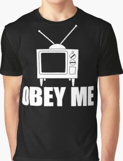 Obey Me Graphic T-Shirt