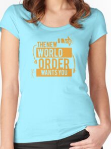 NWO Wants You Women's Fitted Scoop T-Shirt