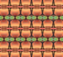 Colorful Vintage Abstract by perkinsdesigns