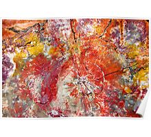 Painted Desert Wood 1 Poster