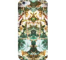 Mirrored Flowers iPhone Case/Skin