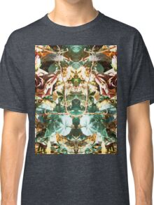Mirrored Flowers Classic T-Shirt