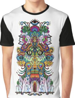 psychedelic illustration Graphic T-Shirt
