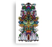 psychedelic illustration Canvas Print