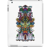psychedelic illustration iPad Case/Skin