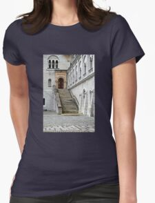 Stairs Womens Fitted T-Shirt