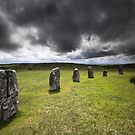 The Hurlers - Bodmin Moor by Angie Latham