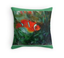 The joy of being a Fish Throw Pillow