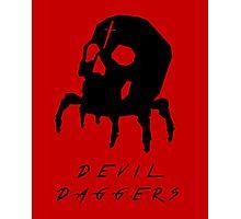 Devil Daggers minimalist poster Photographic Print