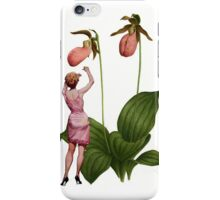 the lady wants her slippers iPhone Case/Skin