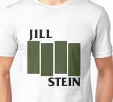Jill Stein Black Flag (Army Green) Unisex T-Shirt