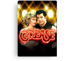 Grease. Olivia Newton-John John Travolta Canvas Print