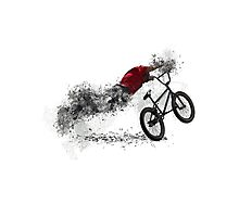 BMX Bike Sport Photographic Print