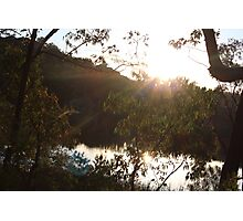 Sunset at Dunn's Swamp Photographic Print