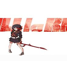 KiLL La KiLL : Anime Concept Art by twizzlerzxx