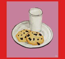Milk & Cookies Kids Tee