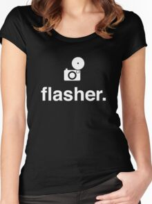 flash Women's Fitted Scoop T-Shirt