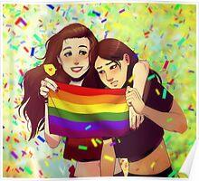 Mulan Rouge Pride Poster