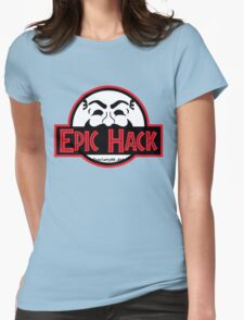 Epic hack Womens Fitted T-Shirt