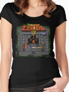 The Zelda of Legend Women's Fitted Scoop T-Shirt