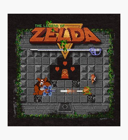 The Zelda of Legend Photographic Print