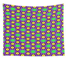 Eye massaging digital wallpaper pattern Wall Tapestry