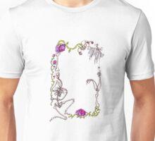 empty Gothic bone frame Unisex T-Shirt
