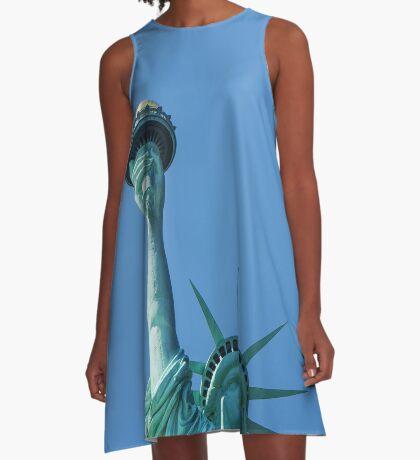 Lady Liberty A-Line Dress