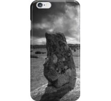 The Hurlers- Bodmin Moor BW iPhone Case/Skin