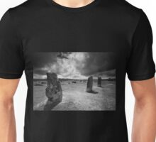 The Hurlers- Bodmin Moor BW Unisex T-Shirt