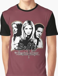 A Trio of Scoobies (Willow, Buffy & Xander) Graphic T-Shirt