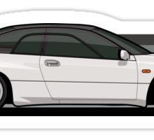 Subaru Alcyone SVX speedlines white Sticker