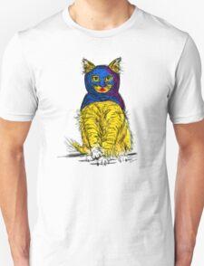 Bat Cat Pattern Unisex T-Shirt