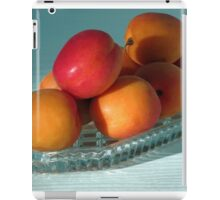 Dish of Delicious Apricots iPad Case/Skin