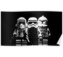Lego Troopers Poster