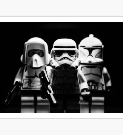 Lego Troopers Sticker