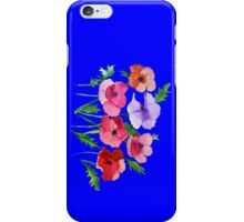 Poppies Amapolas Hand-painted iPhone Case/Skin