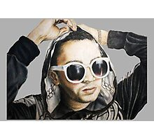 Tyler Joseph in Skeleton Hoodie Photographic Print