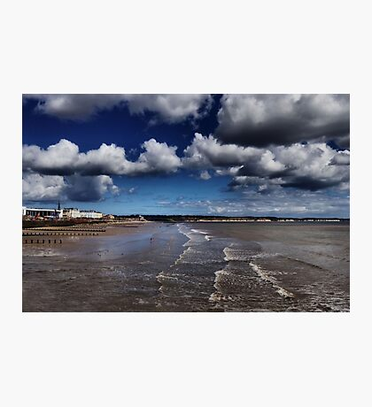 Bridlington Coastline Photographic Print