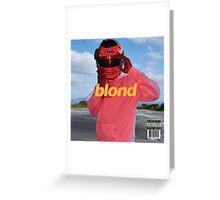 Frank - Blond Alt Cover Greeting Card