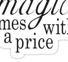 The Price of Magic Sticker