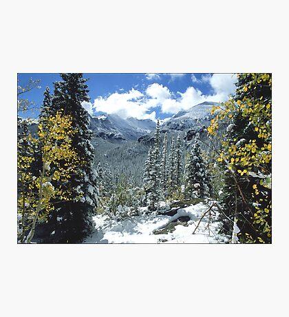 Glacier Gorge Photographic Print