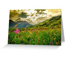 Canadian Rocky Mountains  Greeting Card